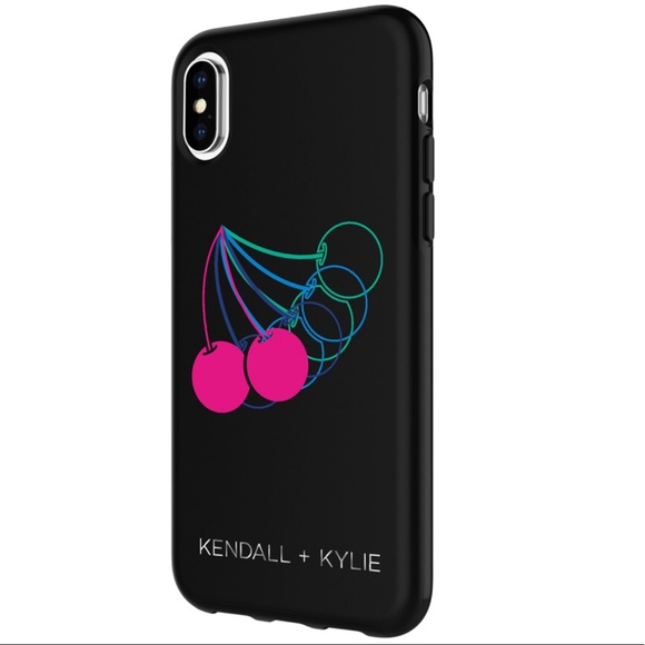 finest selection 6bef1 5e447 🔴 Kendall and Kylie iPhone X phone case cherries NWT